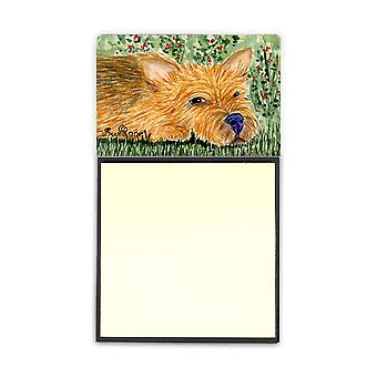 Norwich Terrier Refiillable Sticky Note Holder or Postit Note Dispenser SS8862SN