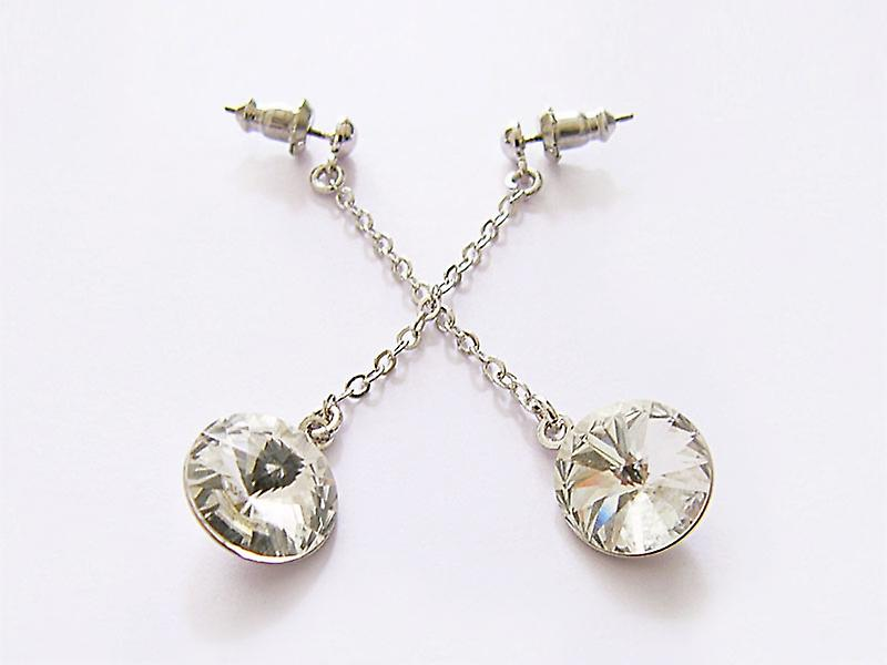 Crystal drop earrings EMB 14.4
