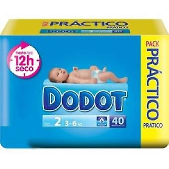 Dodot Diapers T-2 (3-6 Kg) 78 Units (Childhood , Diaper and changers , Diapers)