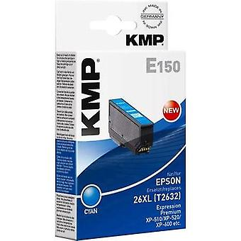 KMP Ink replaced Epson T2632, 26XL Compatible Cyan E150 1626,4003