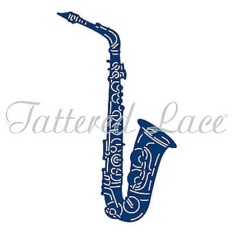 Essentials by Tattered Lace Jazz Saxophone Die