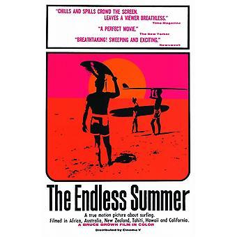 Бесконечный летний фильм плакат (11 x 17)