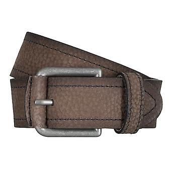 SAKLANI & FRIESE belts men's belts leather belt Brown 5020