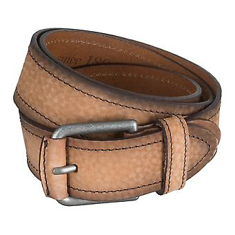 SAKLANI & FRIESE belts men's belts leather belts, beige 5019