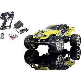 Carson Modellsport rok Warrior Brushed 1:10 RC model car Electric Truggy RWD 100% RtR 2,4 GHz incl. batteries and charge