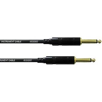 Cordial CCI3PP 6.3 mm Jack Instrument cable Black