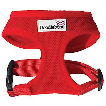 Doodlebone Harness Red Large 46-58cm