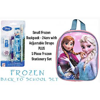 Officially Licensed | DISNEY FROZEN | Back to School Kit | Rucksack Bag and Filled Pencil Case