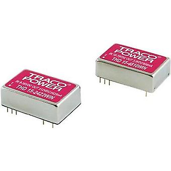 DC/DC converter (print) TracoPower THN Series 48 Vdc 3.3 Vdc 4 A 15 W No. of outputs: 1 x