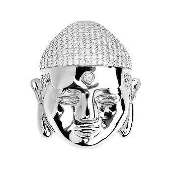 Premium Bling - 925 sterling sølv Buddha anheng