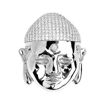 Premium Bling - plata de ley 925 colgante de Buddha