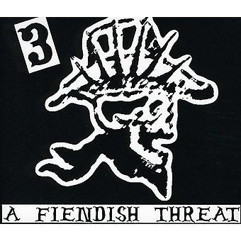 Hank 3 - Fiendish Threat [CD] USA import