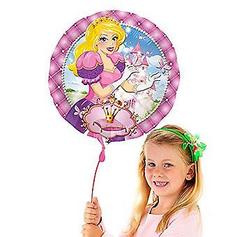 Balão da folha 43 cm da balão de hélio princesa balão