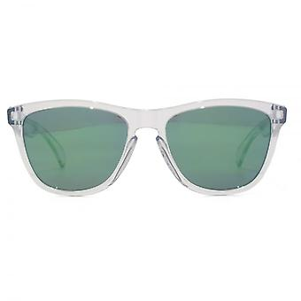 Oakley Frogskins Sunglasses In Polished Clear Jade Iridium