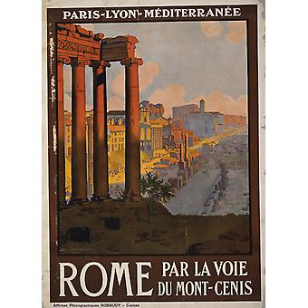 Rome Poster Print Giclee
