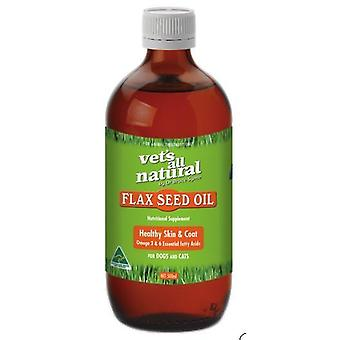 Vets All Nat. Flax Seed Oil 500mL