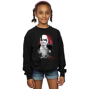 Star Wars filles le dernier Jedi Stormtrooper brossé Sweatshirt