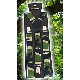 Belts and suspenders  Bretellen camouflage militair / leger