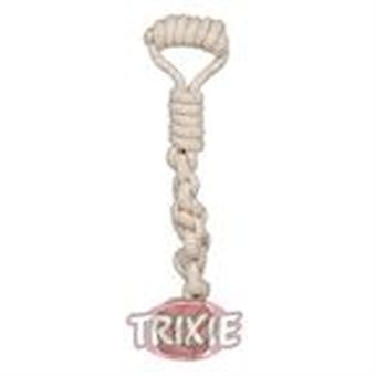 Trixie Denta Fun Playing Rope with Woven-in Ball (Dogs , Toys & Sport , Ropes)