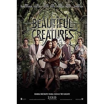 Beautiful Creatures - Signed Movie Poster