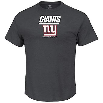 Majestic OUR TEAM shirt - New York Giants charcoal