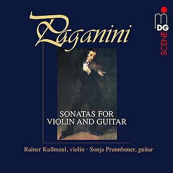 Paganini / Kubmaul, Rainer / Prunnbauer, Sonja - sonater for Violin for Violin & Guitar [Vinyl] USA import