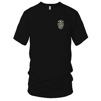 Amerikanske hær - 10 Special Forces Group Crest grøn 10 broderet Patch - Herre T-shirt