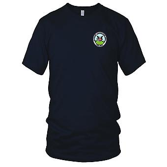 US Navy White House Communications Agency Camp David Embroidered Patch - Mens T Shirt