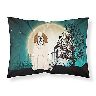 Halloween gruselig Saint Bernard Fabric Standard Kissenbezug