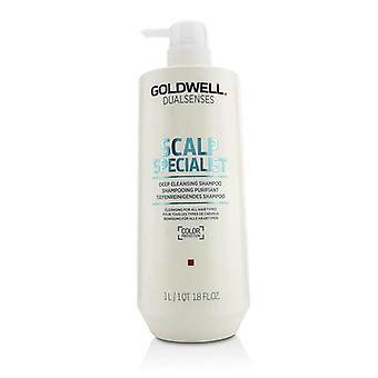 Goldwell Dual Senses Scalp Specialist Deep Cleansing Shampoo (Cleansing For All Hair Types) - 1000ml/33.8oz