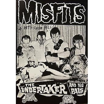 Misfits Undertaker Poster Poster Print