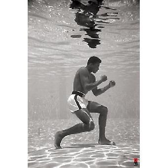 Muhammad Ali cartel submarino impresión cartel Poster Print