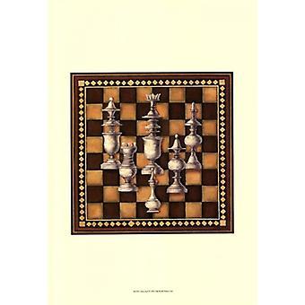 Chess Set I Poster Print (13 x 19)