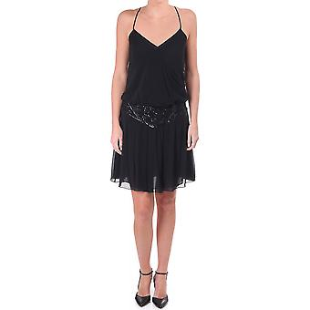 Ted Baker Womens Womens Strap Dress With Seq Detail