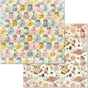 Carousel Christmas Double-Sided Cardstock 12