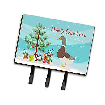 Saxony Sachsenente Duck Christmas Leash or Key Holder