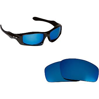 Monster Pup Replacement Lenses Polarized Blue by SEEK fits OAKLEY Sunglasses