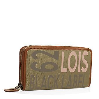 91717 portfölj plånbok stora plånbok Cardcase kvinna med dubbel dragkedja. 23 fack för kort och dokumentation.