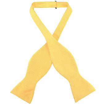 Antonio Ricci SELF TIE Bow Tie Solid Ribbed Pattern Men's BowTie