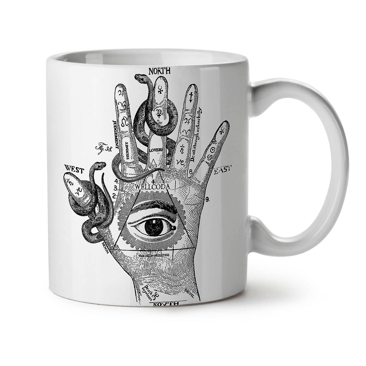 Triangle 11 Eye White Ceramic Hand Tea New Coffee OzWellcoda Mug tdCxhsrQoB
