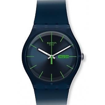 Swatch blå Rebel Herrenuhr (SUON700)
