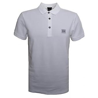 Hugo Boss Casual Men's Passenger Slim Fit White Polo Shirt