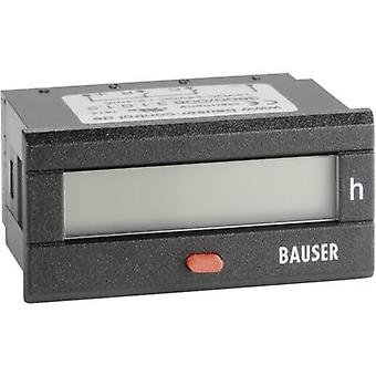 Bauser 3800.2.1.0.1.2 Digital timer or pulse counter - new! Twin solution Assembly dimensions 45 x 22 mm