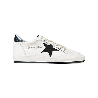 Golden Goose men's G32MS592G6 White leather of sneakers