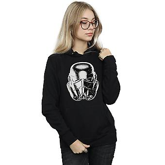 Star Wars Women's Stormtrooper Warp Speed Helmet Hoodie