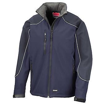 Resultado para hombre 3 capas Soft Shell cortavientos y chaqueta transpirable