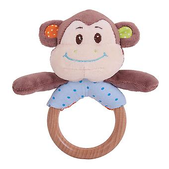 Bigjigs Toys Cheeky Monkey Ring Rattle