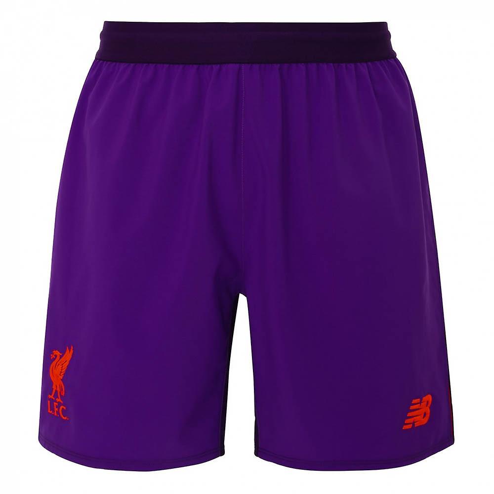2018-2019 Liverpool Away Shorts (Purple) - Kids