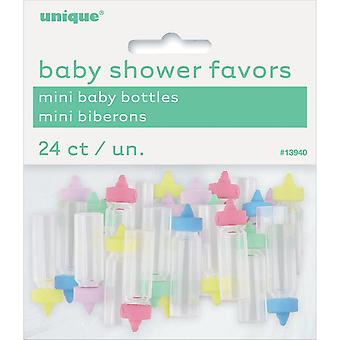 Party Favors 24/Pkg-Assorted Baby Bottles