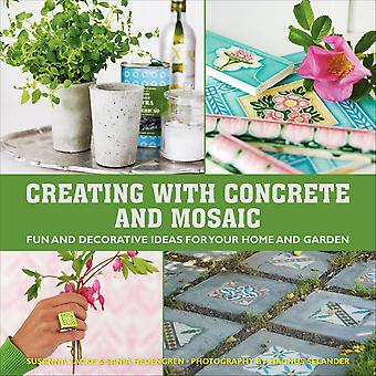 Skyhorse Publishing-Creating With Concrete And Mosaic